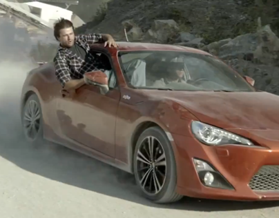 Toyota GT 86 Test Wife