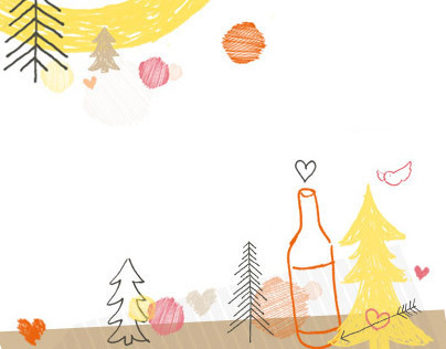 Winesisterhood header illustrations