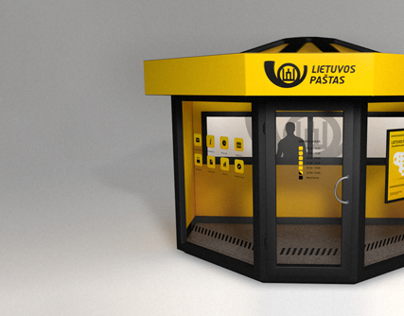 Design Proposal: Post Service Booth
