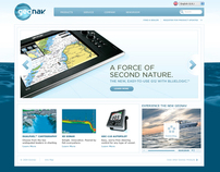 Geonav Marine Corporate Website