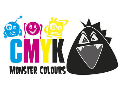 CMYK MONSTER COLOURS