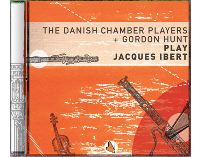 CD cover art: Jacques Ibert