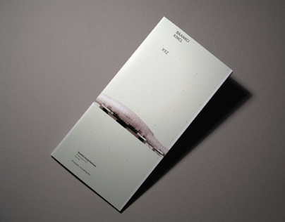 Branko Kincl Exhibition Brochure