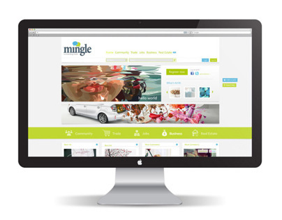 Mingle! Website Design