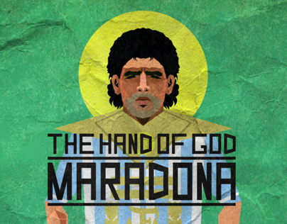 -MARADONA- {THE HAND OF GOD}