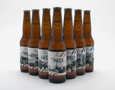 Gulf Brewery Beer Labels