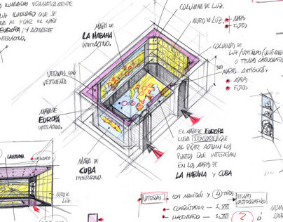 La Habana-Dibujos preparatorios