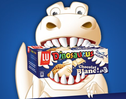White chocolate Dinosaurus