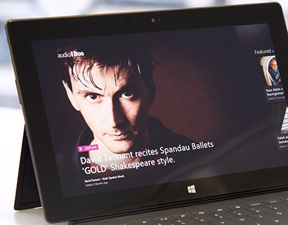 AudioBoo | Native app for Windows 8