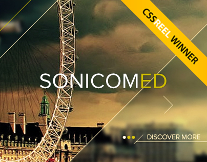 SonicomED - Web Design | Unusual Geometry