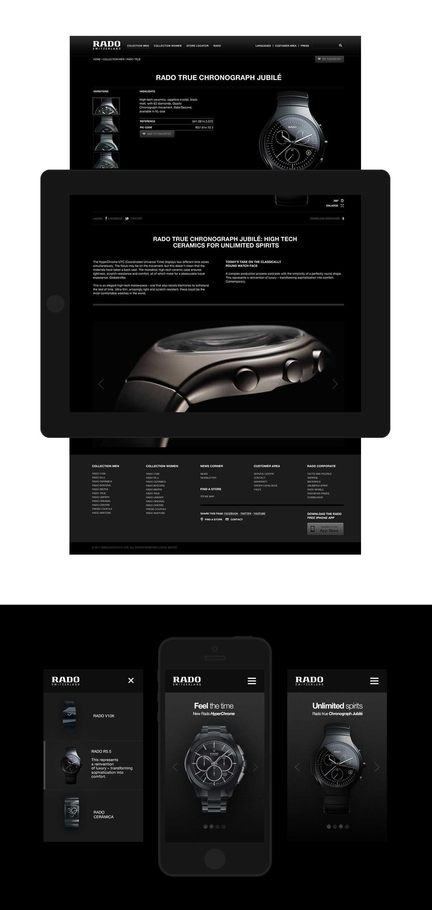 RADO | Web redesign - PITCH -
