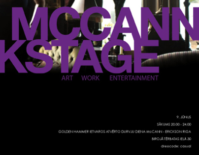 Event: Golden Hammer pre-party Mccann Backstage