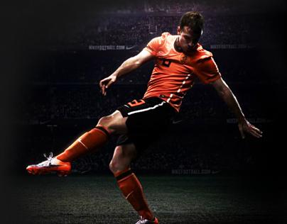 KNVB 2010 football website concept by a fan :)