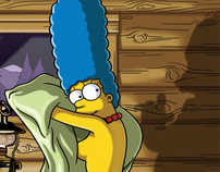Playboy October 2009 / Marge Simpson