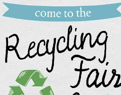 Recycling Fair Poster