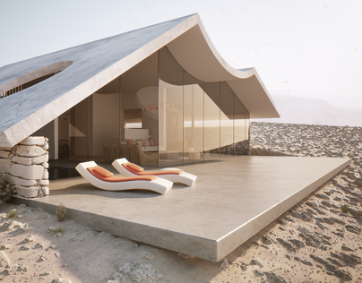 Desert Villa - Architecture Visualization