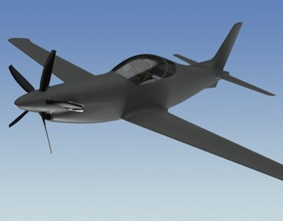 Conceptual design of a single seat multirole turboprop
