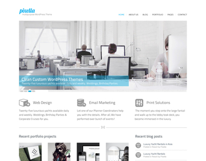 Web Design Studio: WordPress Theme