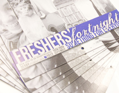 Freshers events booklet