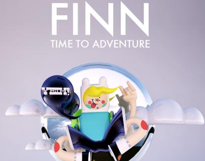 ADVENTURE TIME! FINN Fan Art