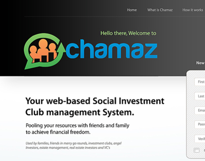 Chamaz User Interface Design