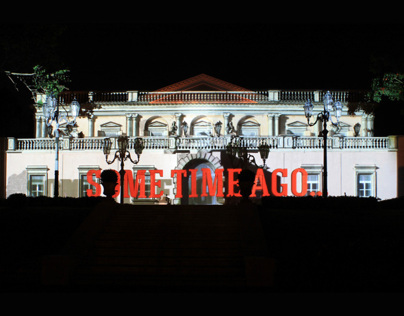 Videomapping in Sicily