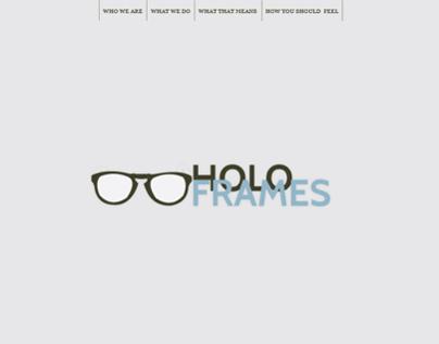 HoloFrames Site