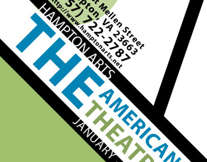 The American Theater Brochure/Logo Redesign