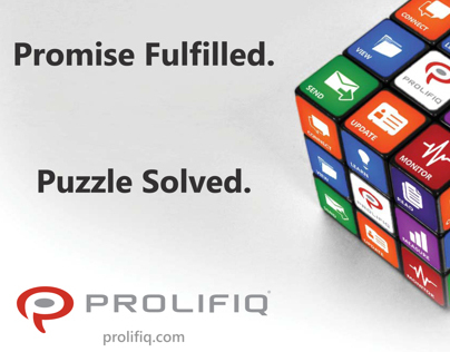 Prolifiq Software Advertisement