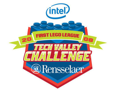 Intel First Lego League Challenge at RPI Logo 2008
