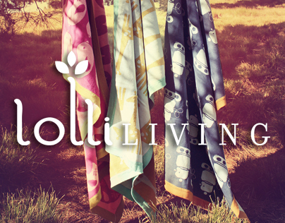 Lolli Living by Living Textiles | Branding & Design
