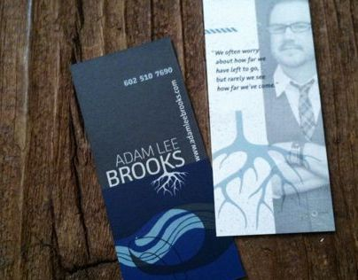 Adam Lee Brooks, public speaker: Branding