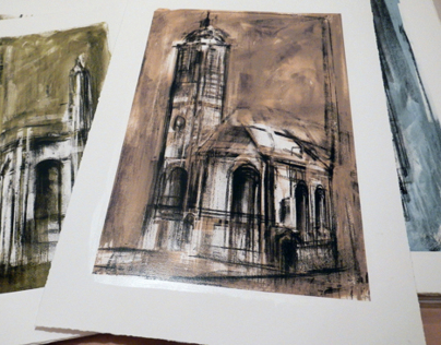 Wrens London Churches First Print Pull...