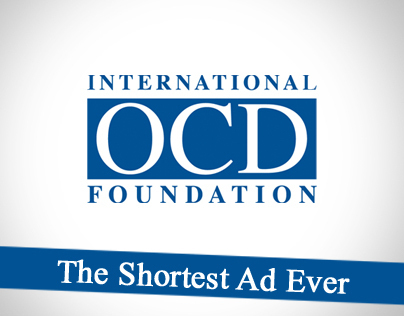 International OCD Foundation - Shortest Ad Ever