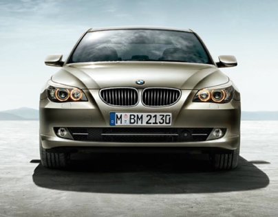 Campaign: BMW 5 Series Editions, 2008.