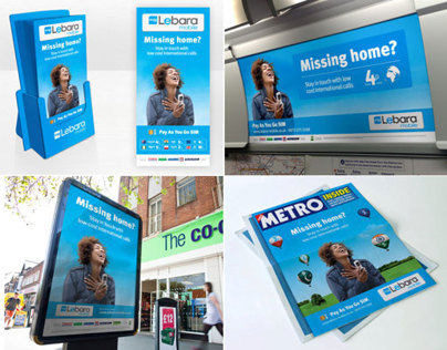 Lebara Mobile - Missing Home Advertising Campaign