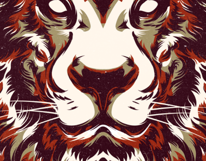 Lion // Predator Illustration