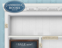 Cambridge Book, bookstore website