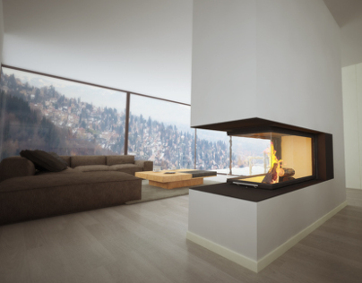 Panorama Fireplace // Brunner #1