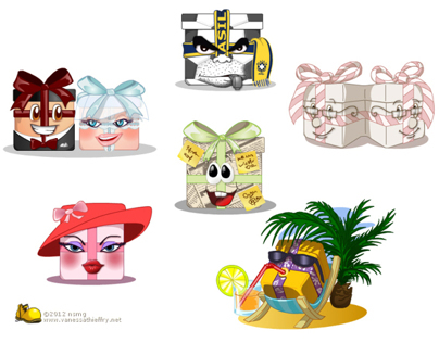 2012 Animated boxes