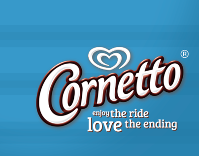 CORNETTO/ Enjoy the ride, love the ending