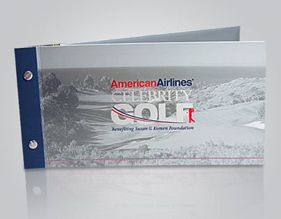 American Airlines Celebrity Golf Brochure