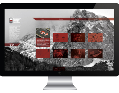 Soupcan Design (Website Concepts)