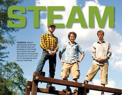 Mechanical Engineering Steam Punks Feature