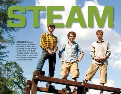 Mechanical Engineering Steam Punks Feature