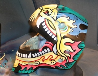 Goalie Mask Design