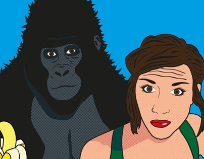 Gorilla and a Girl