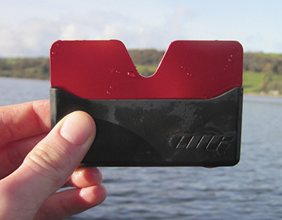 The Vi card holder / wallet - A Kickstarter project.