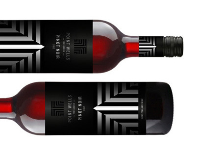 Point Wells Winery Branding