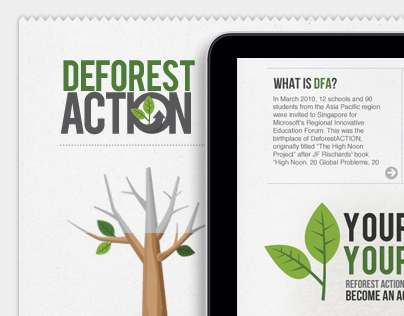 Deforest Action Homepage